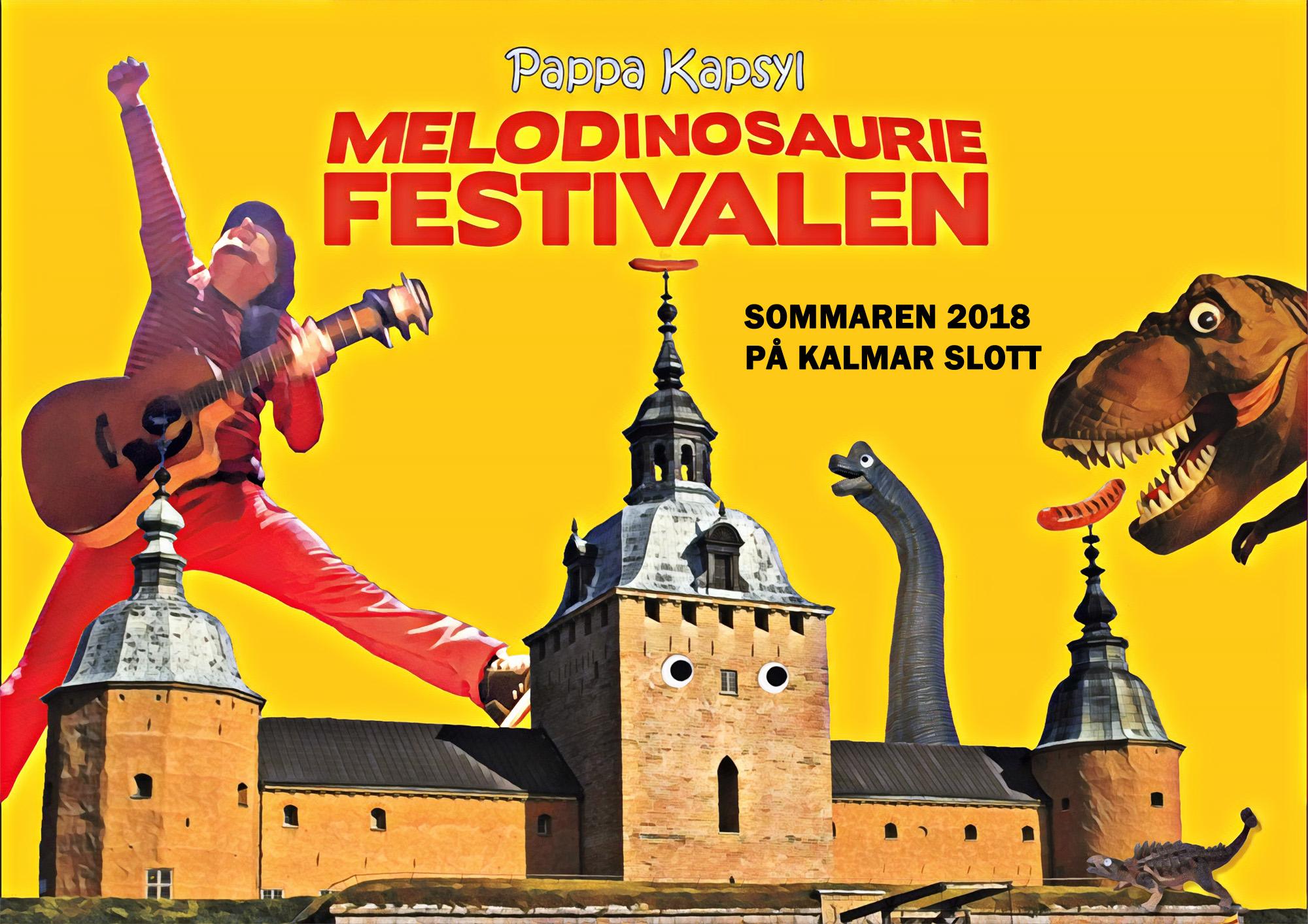 Melodinosauriefestivalen_Pappa_Kapsyl_2018_Kalmar_Slott_liggande