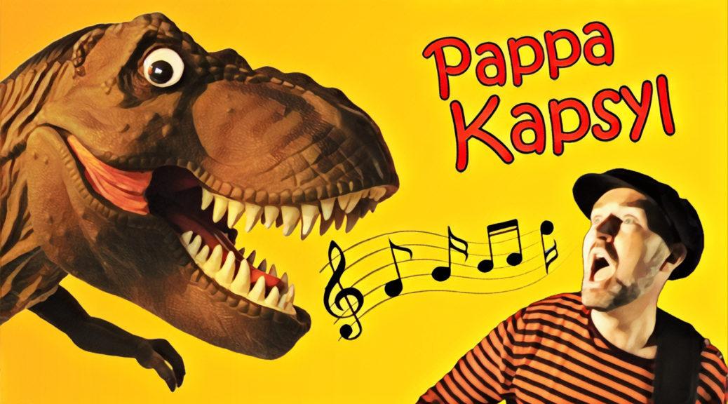 Pappa_Kapsyl_Dinosaurielåtar_Live_Poster_2017