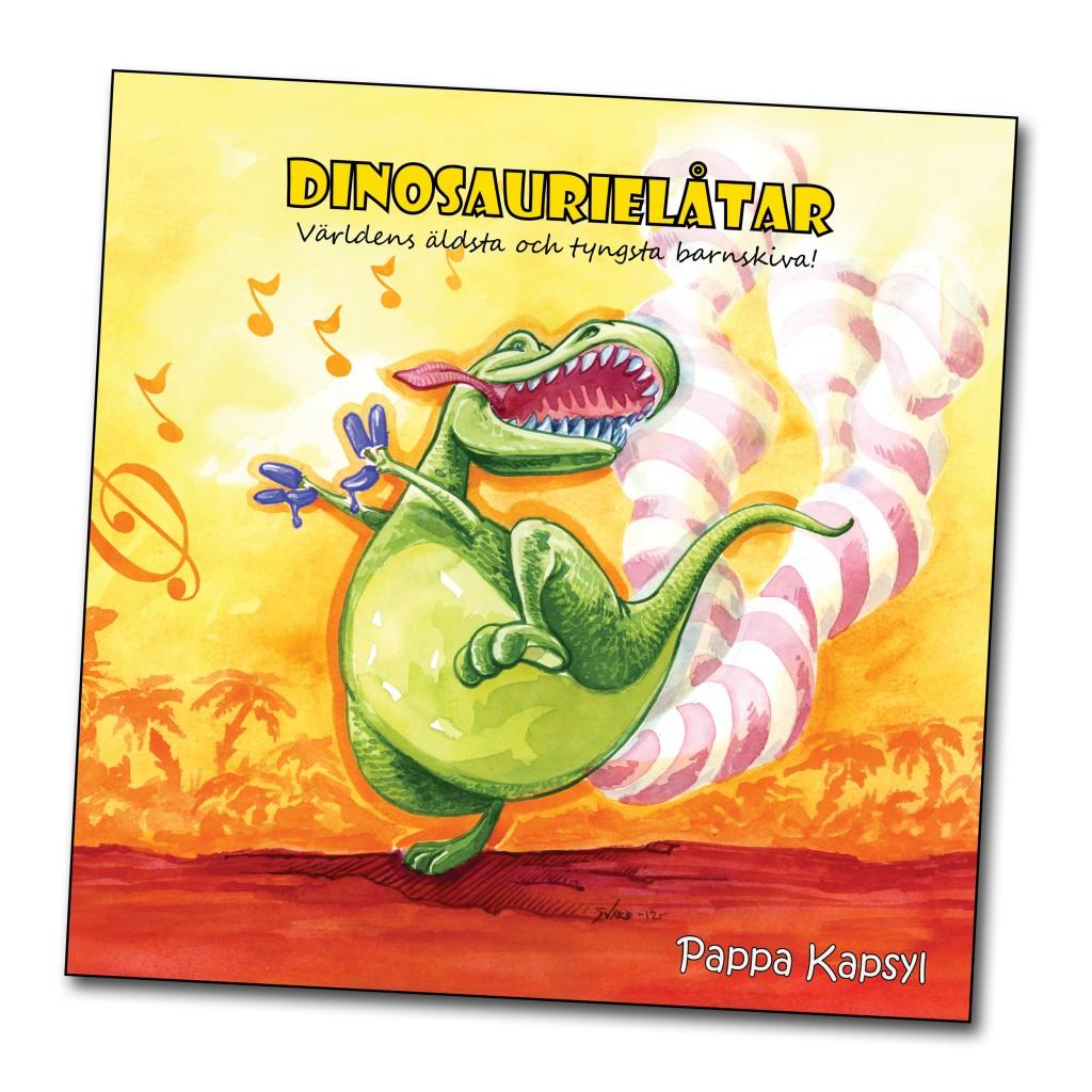 Dinosaurielåtar omslag